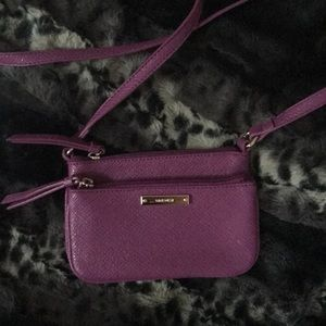 Nine West purple crossbody bag